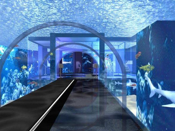 PLUNGING INTO THE FUTURE: ROME'S HIGH-TECH AQUARIUM