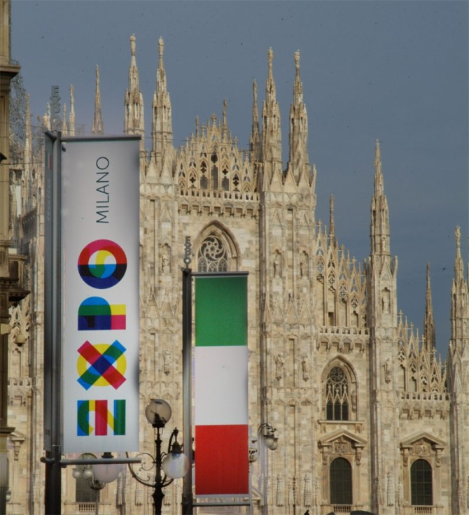 ROME'S GETTING READY FOR MILAN EXPO