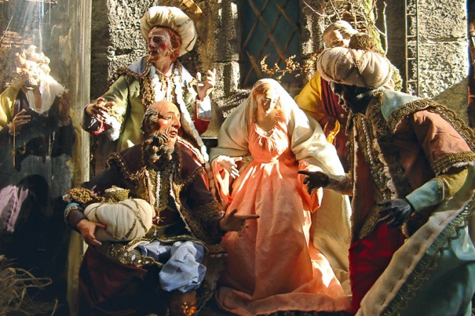 NATIVITY SCENES: EIGHT CENTURIES OF TRADITION ON EXHIBIT