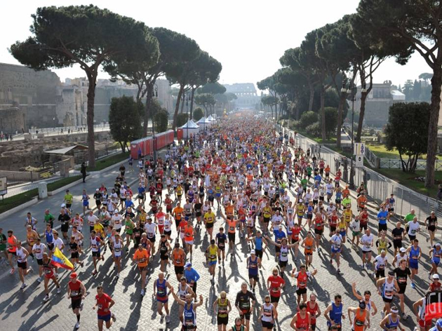 "ROME, THE CAPITAL OF  SPORT: ""ROME MARATHON"" & ""ROMAFUN"""