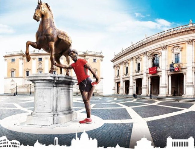 ROME MARATHON… WITH BENEFITS!