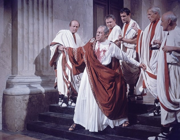 JULIUS CAESAR HAS TO DIE (ON MARCH 15th… FOR REAL!)
