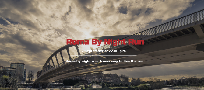 ROMA BY NIGHT RUN 2018