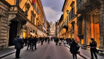 What about shopping in Rome ?