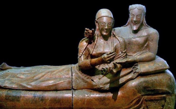 TOP ATTRACTION IN ROME  * National Etruscan Museum *