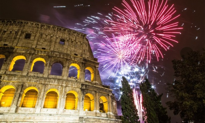 How and where  to celebrate New Year in  Rome| Some tips