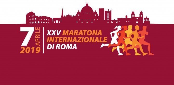 #savethedate : Sunday 7 April – 25th Edition of Rome Marathon