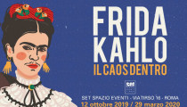 "Frida Kahlo and her  ""Il caos dentro"" // soon in Rome"